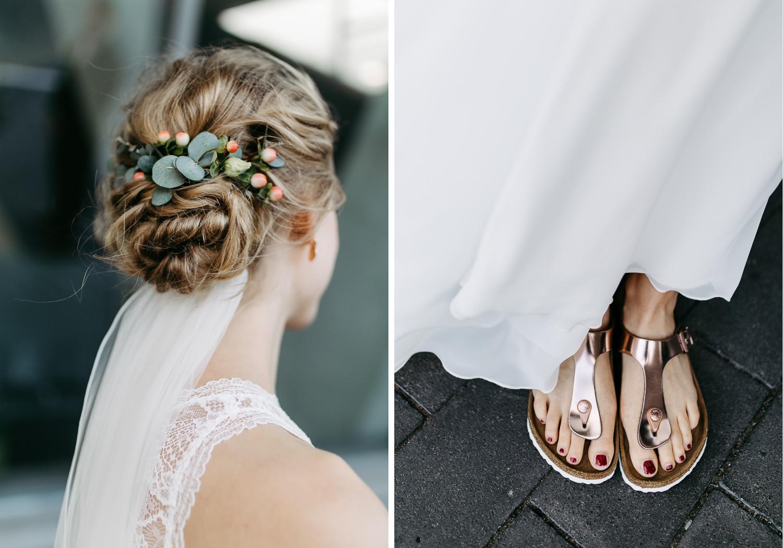 Birkenstock Hochzeitsschuhe Brautschuhe
